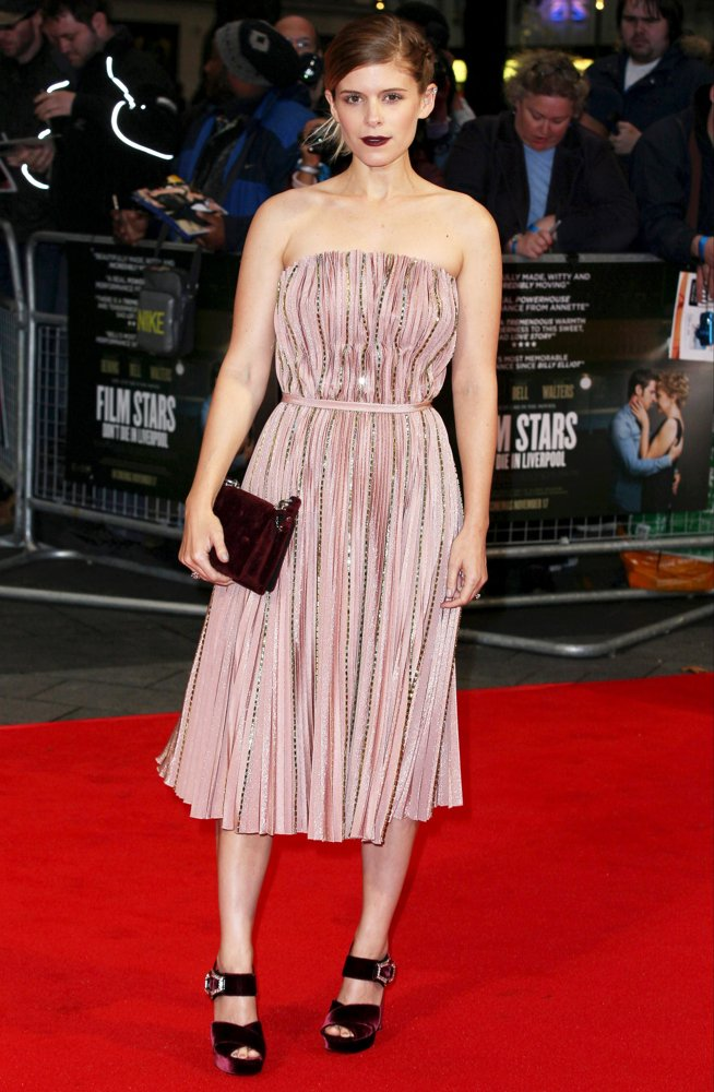 Kate Mara<br>The 61st BFI LFF European Premiere of Film Stars Don't Die in Liverpool - Arrivals