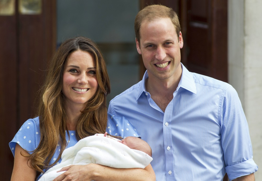 Kate Middleton, Prince William<br>Prince William and Kate Middleton Left Hospital with Their New Bundle of Joy
