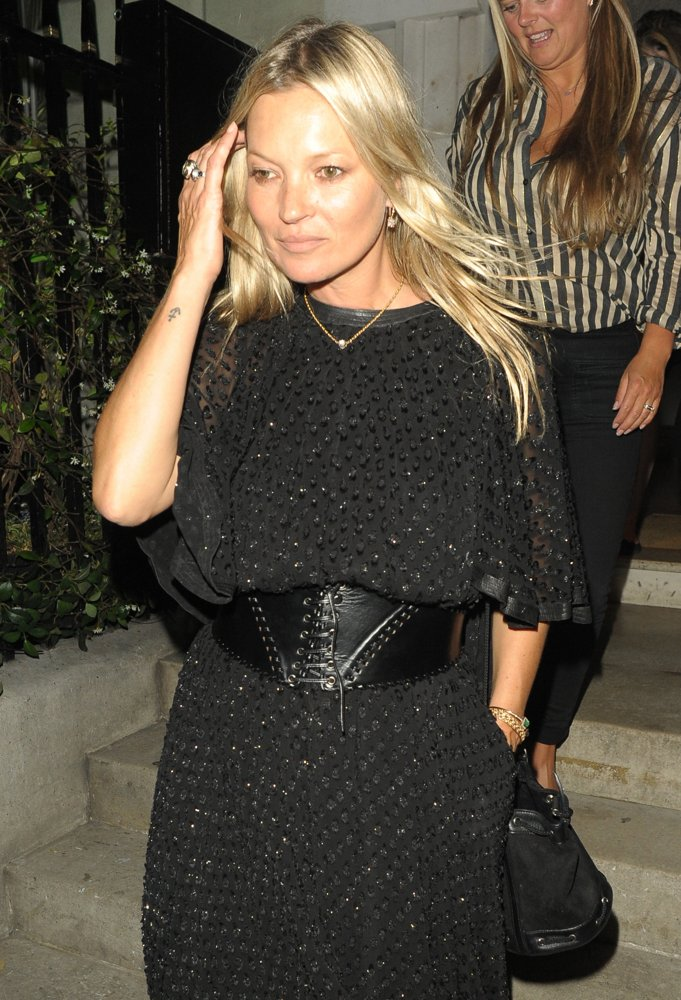 Kate Moss<br>Kate Moss Leaves Annabel's Club