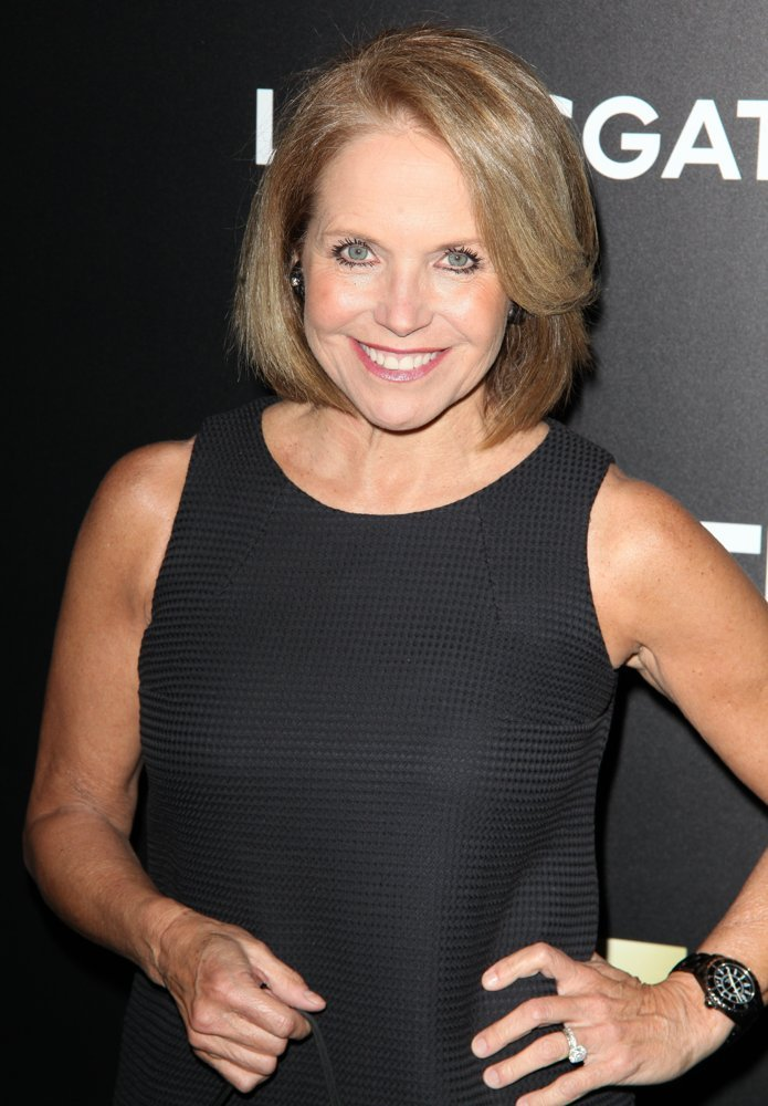 Katie Couric<br>Special Screening of Mad Men - Red Carpet Arrivals