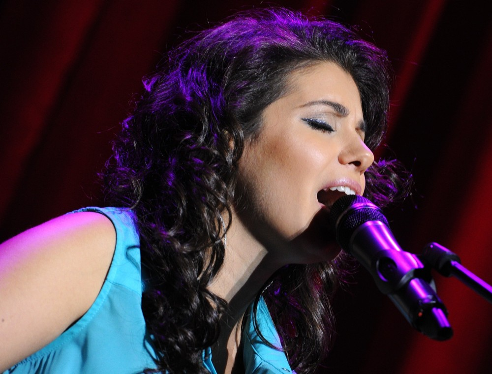 Katie Melua<br>Katie Melua Performs During A Sold Out Concert