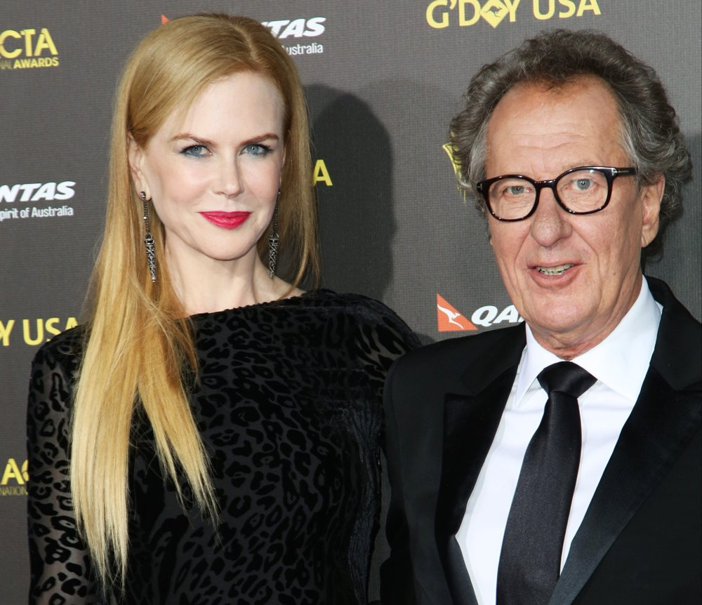Nicole Kidman, Geoffrey Rush<br>2015 G'DAY USA Gala Featuring The AACTA International Awards Presented by Qantas