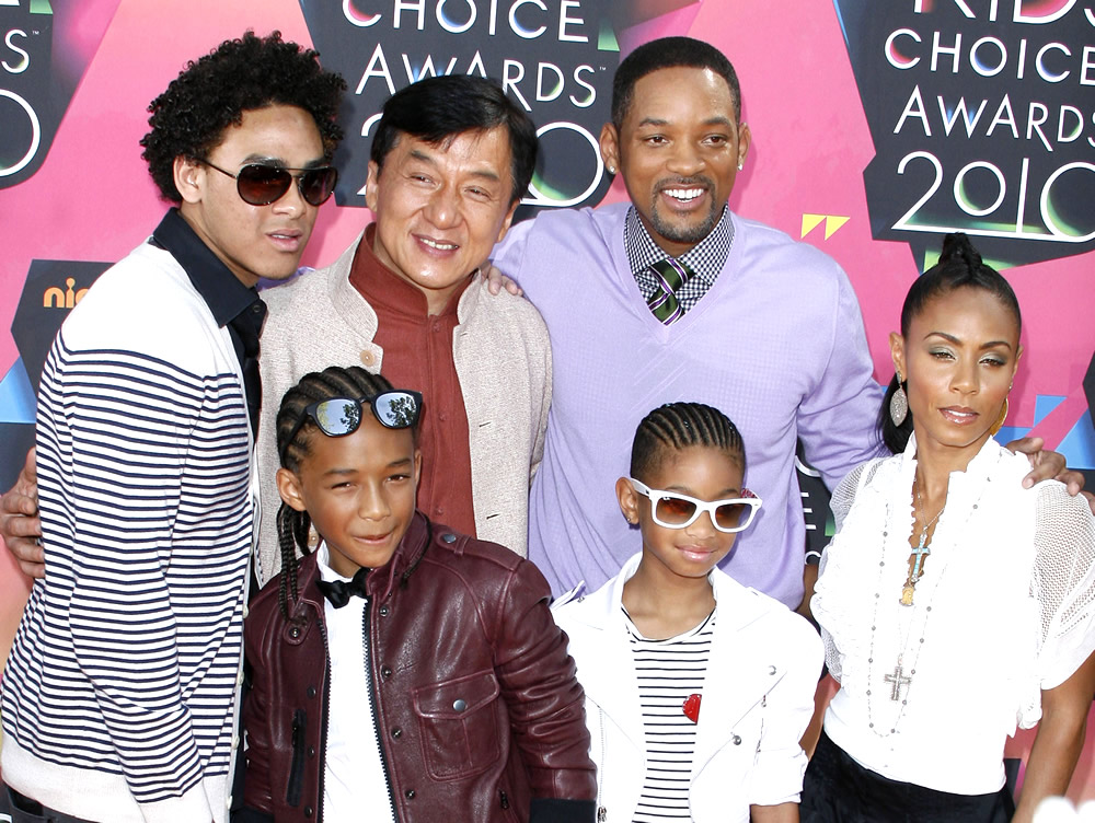 jada pinkett smith and will smith kids. Jackie Chan, Will Smith, Jada