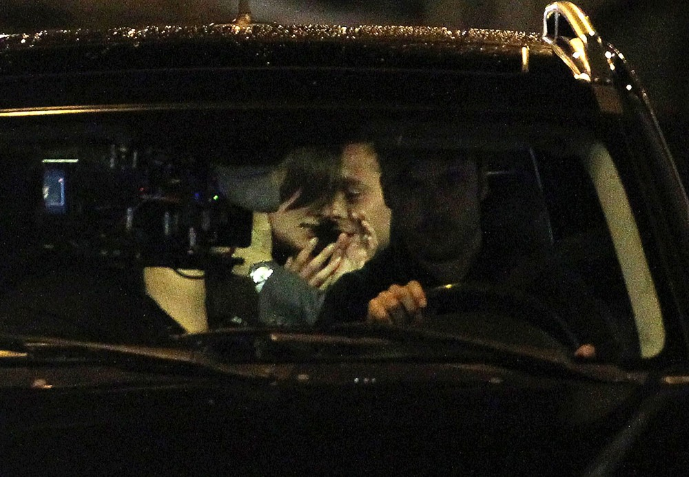 Keira Knightley, Chris Pine<br>Shoot Scenes for Jack Ryan Movie on Location