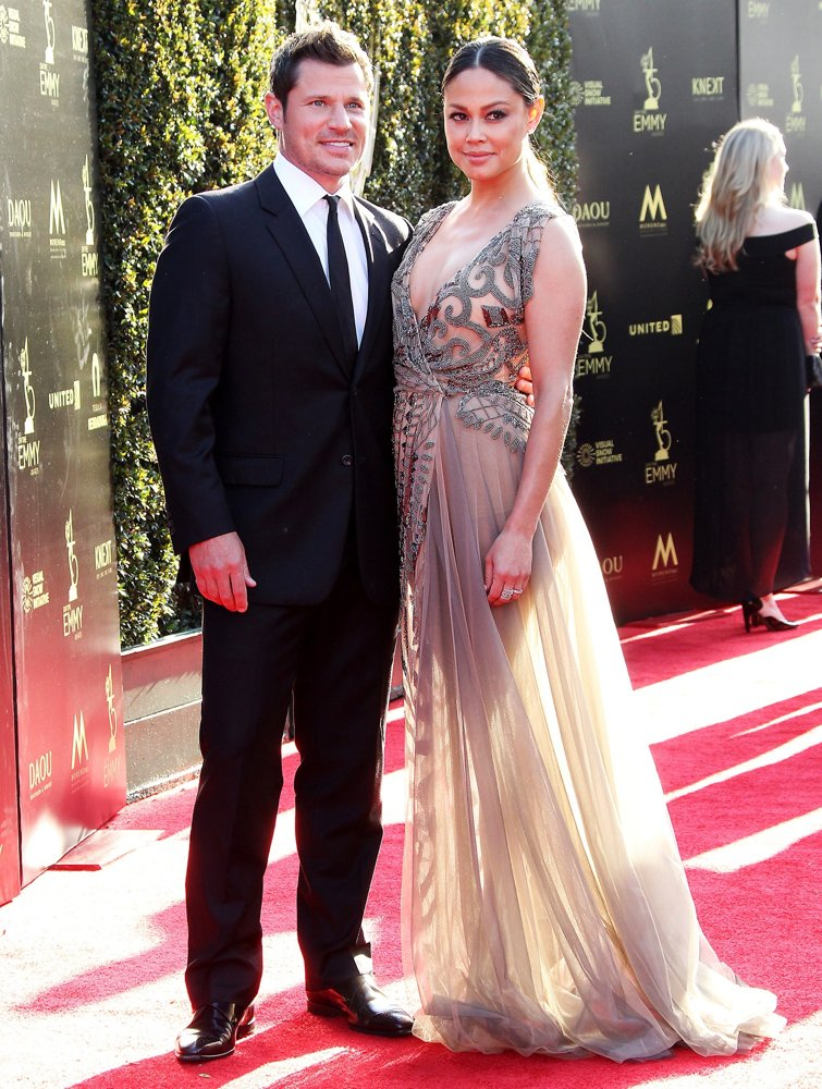 Nick Lachey, Vanessa Minnillo<br>45th Annual Daytime Creative Arts Emmy Awards - Arrivals