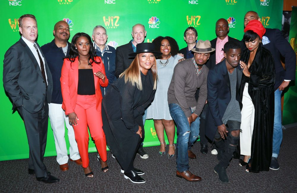 David Alan Grier, Shanice Williams, Queen Latifah, Amber Riley, Ne-Yo, Elijah Kelley<br>NBC The Wiz Live! Television Academy Event - Arrivals