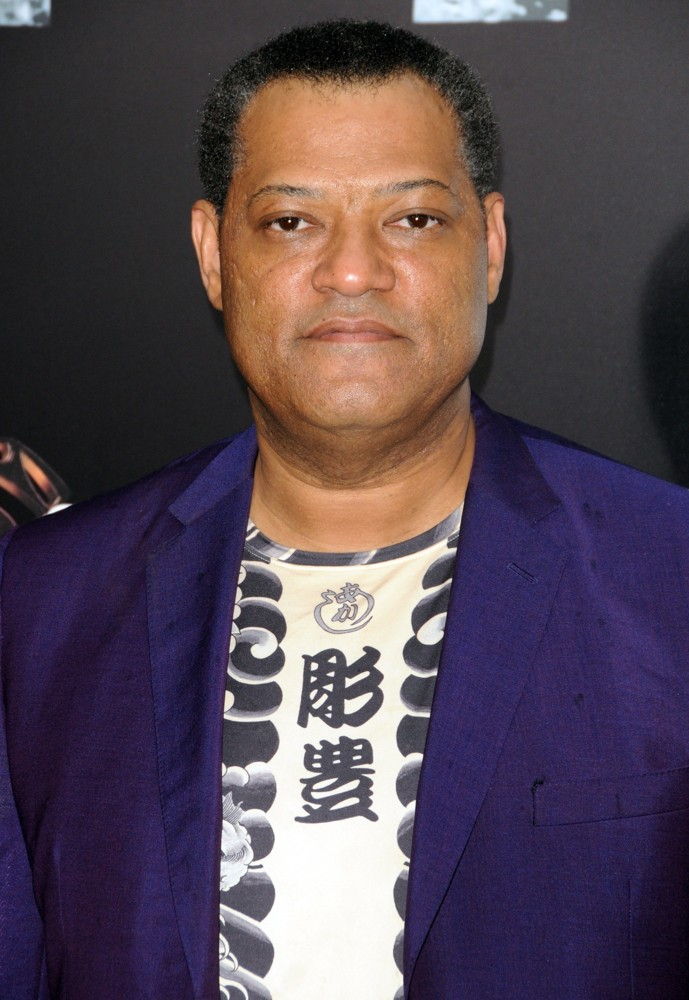 Laurence Fishburne Picture 34 - World Premiere of Man of ...