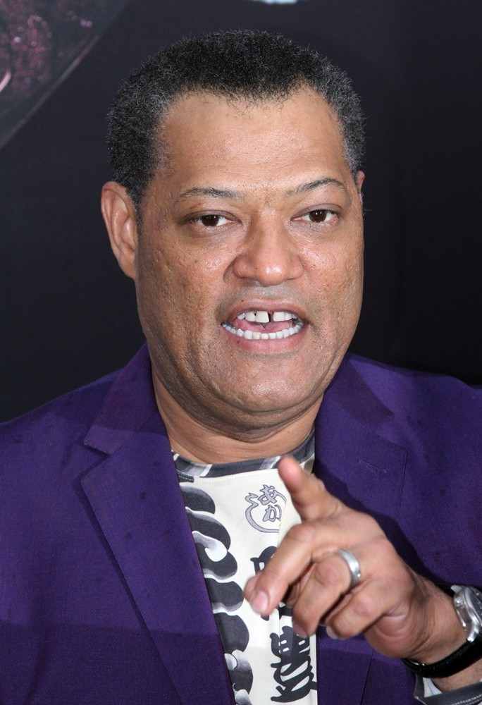 Laurence Fishburne Picture 37 - World Premiere of Man of ...