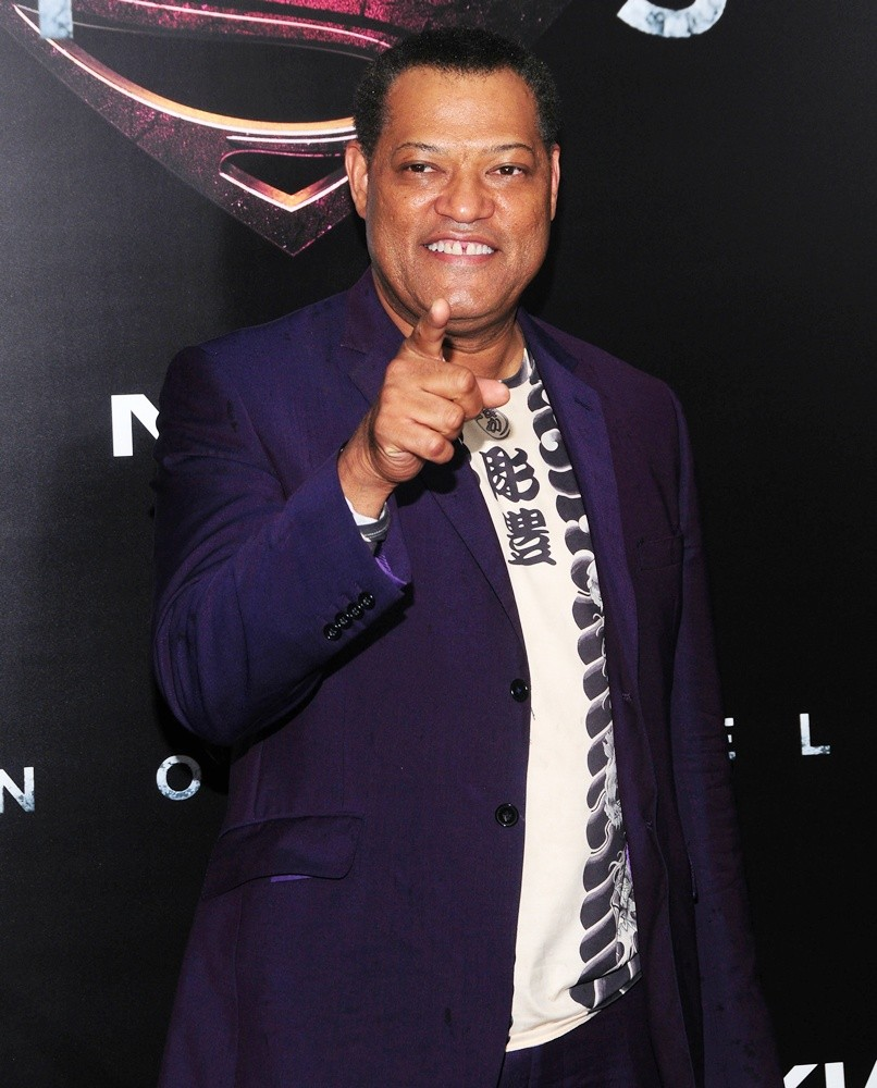 Laurence Fishburne Picture 45 - World Premiere of Man of ...