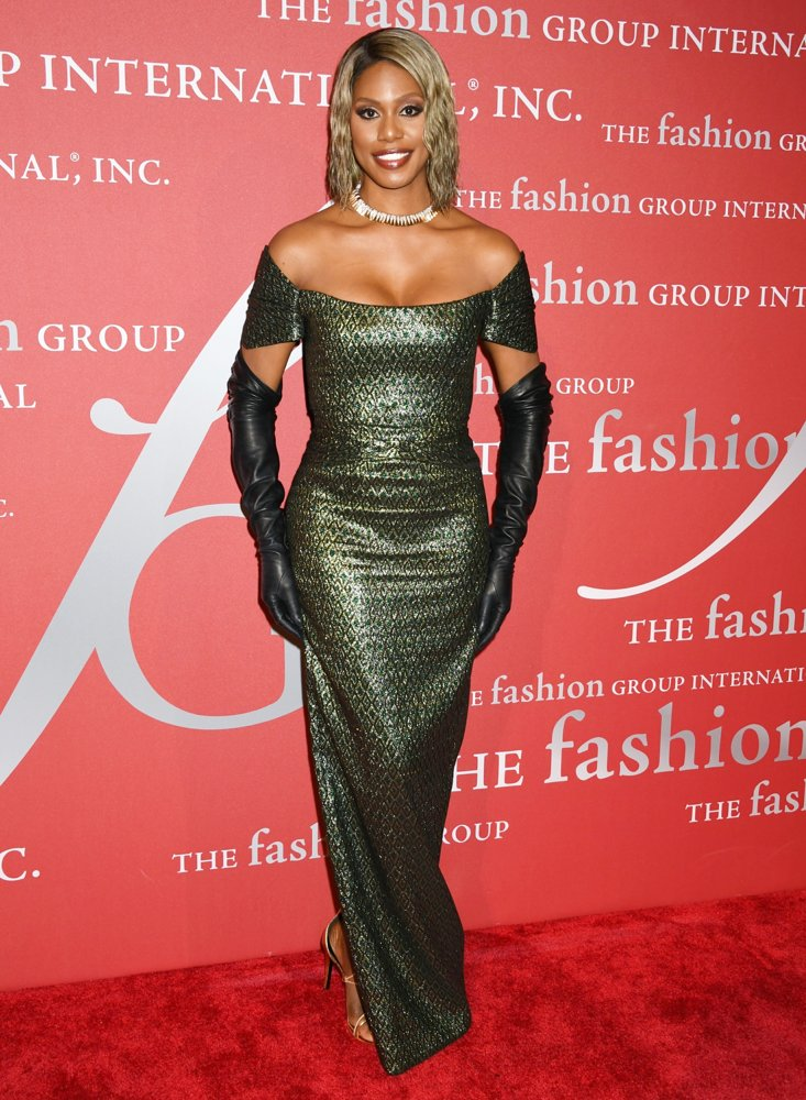 Laverne Cox<br>The 2019 Fashion Group International Night of Stars Gala