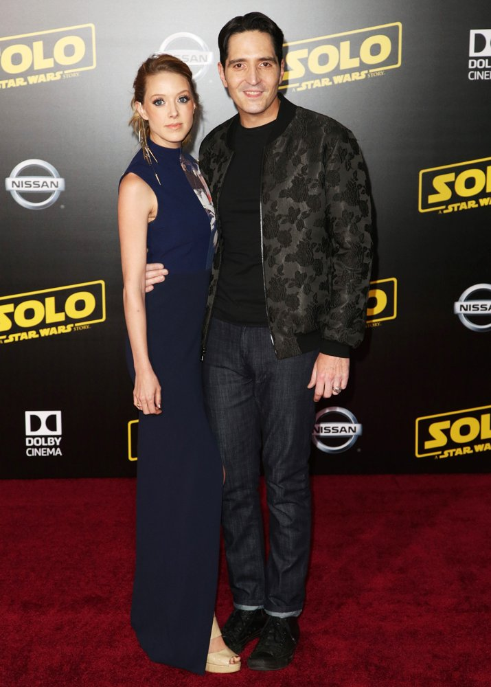 Evelyn Leigh, David Dastmalchian<br>Premiere of Disney Pictures and Lucasfilm's Solo: A Star Wars Story - Arrivals