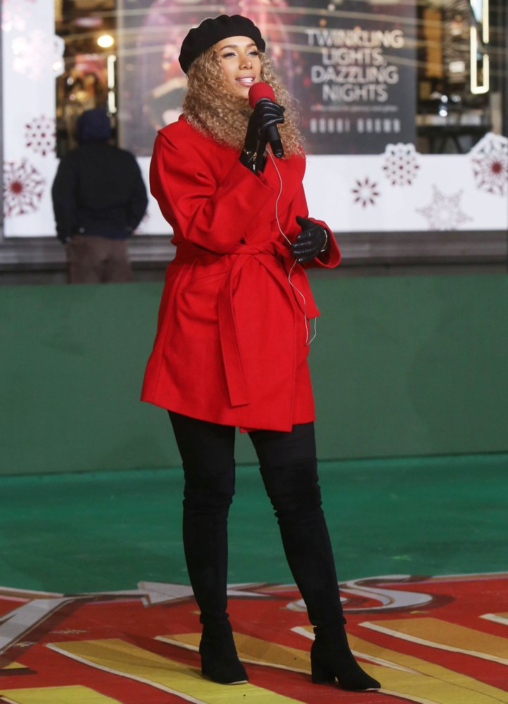 Leona Lewis<br>The 92nd Macy's Thanksgiving Day Parade Rehearsals