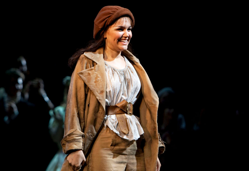 Samantha Barks<br>The Curtain Call for 'Les Miserables'