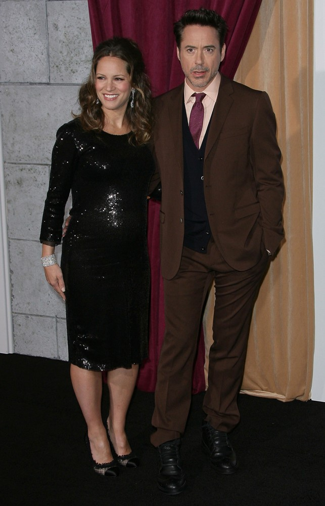 Susan Levin, Robert Downey Jr.<br>Los Angeles Premiere of Sherlock Holmes: A Game of Shadows