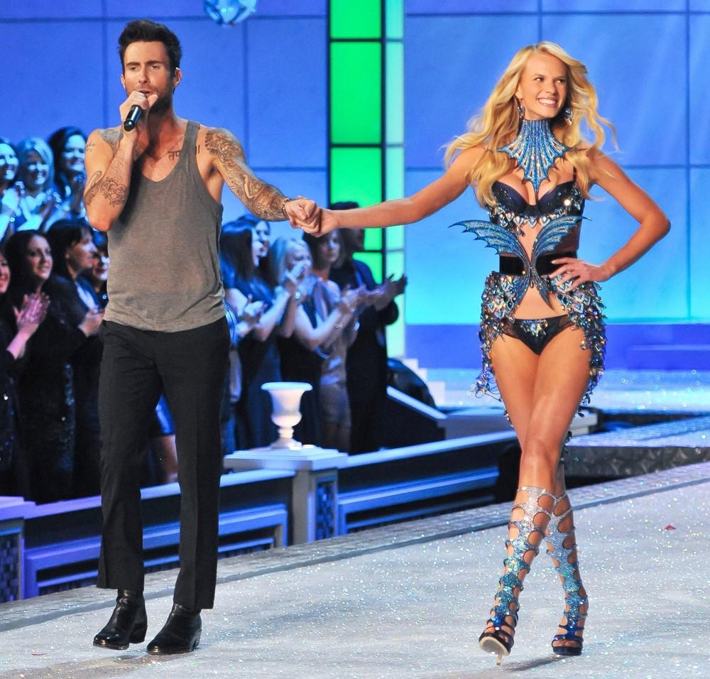 Victoria's Secret Fashion Show Music Video adam levine and anne