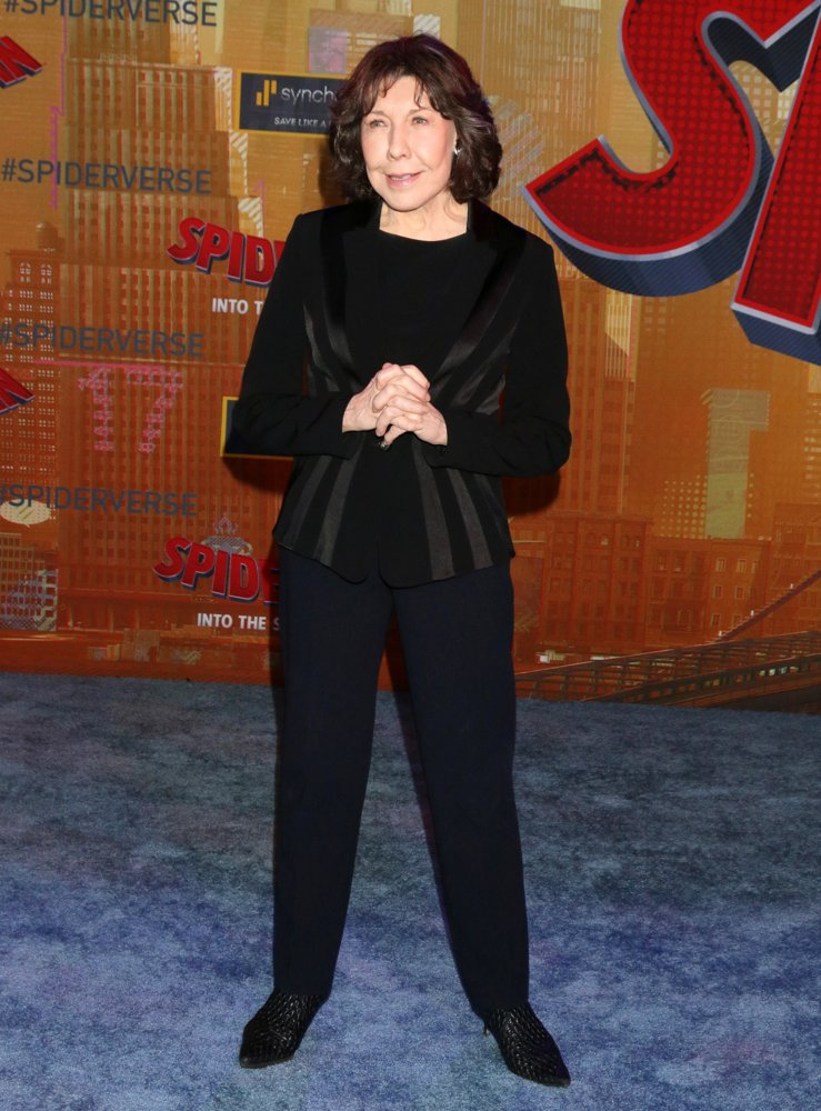 Lily Tomlin<br>Spider-Man: Into the Spider-Verse Premiere - Arrivals