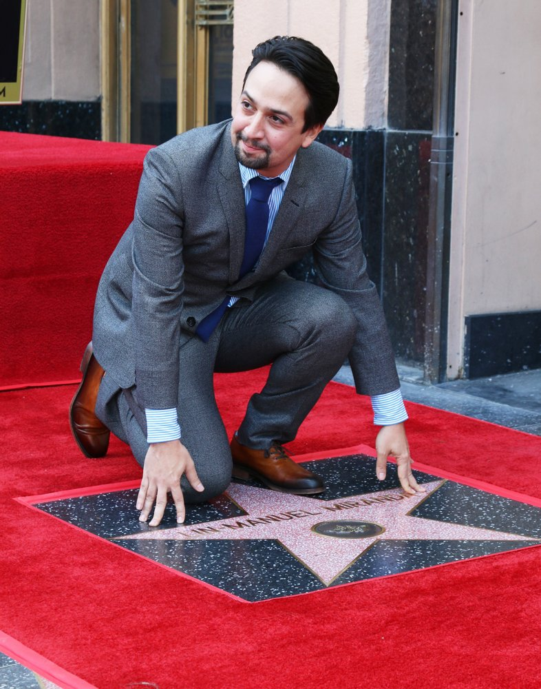 Lin-Manuel Miranda<br>Lin-Manuel Miranda Is Honoured with A Star on The Hollywood Walk of Fame
