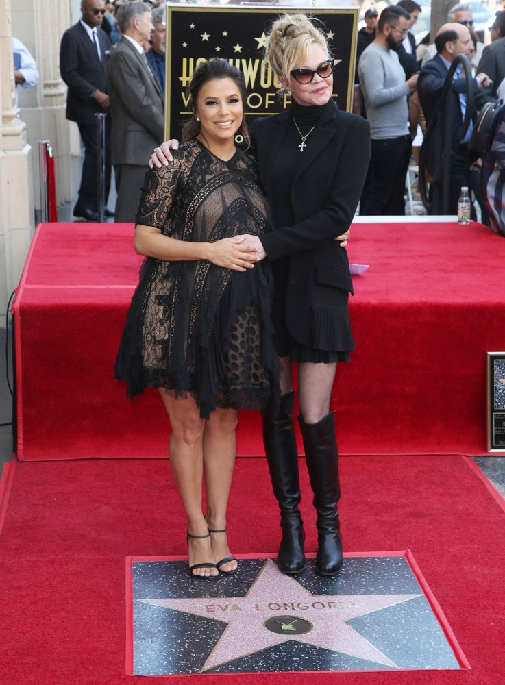 Eva Longoria, Melanie Griffith<br>Eva Longoria Honored with Star on The Hollywood Walk of Fame