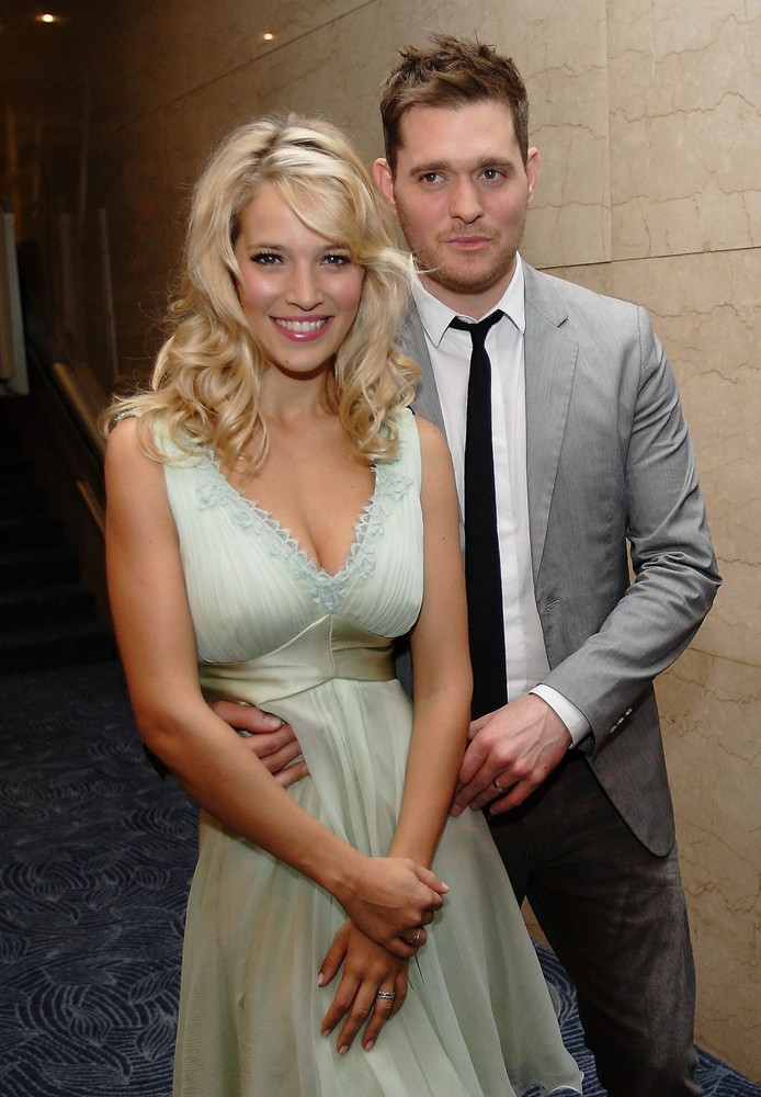 Luisana Lopilato, Michael Buble<br>The Nordoff Robbins O2 Silver Clef Awards