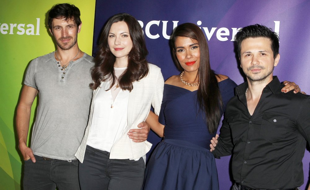 Eoin Macken, Jill Flint, Daniella Alonso, Freddy Rodriguez<br>2014 NBC-Universal's Summer Press Day - Arrivals