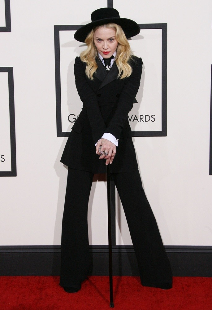 Madonna<br>The 56th Annual GRAMMY Awards - Arrivals