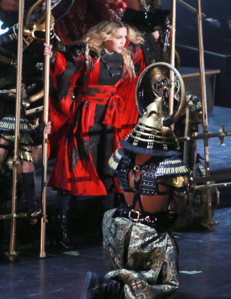 Madonna<br>Madonna Performs Live During Her Rebel Heart Tour