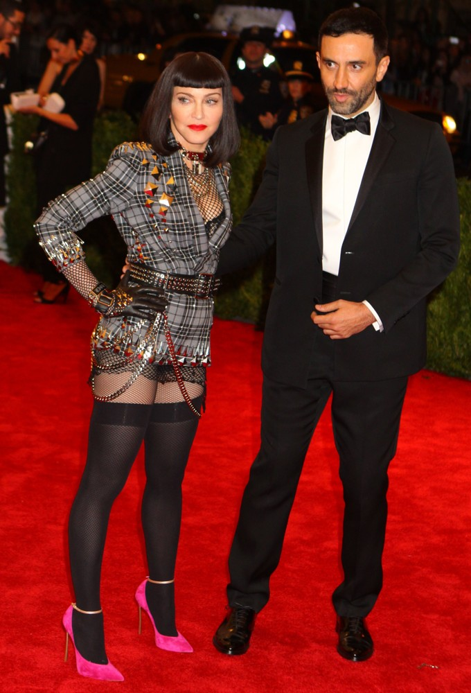Madonna, Riccardo Tisci<br>PUNK: Chaos to Couture Costume Institute Gala