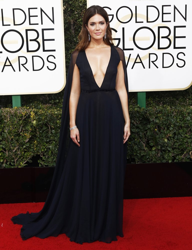Mandy Moore<br>74th Golden Globe Awards - Arrivals