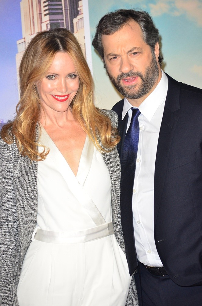 Leslie Mann, Judd Apatow<br>U.K. Premiere of Anchorman: The Legend Continues - Arrivals