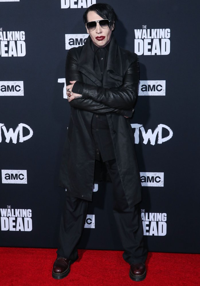 Marilyn Manson<br>The Los Angeles Special Screening of AMC's The Walking Dead Season 10