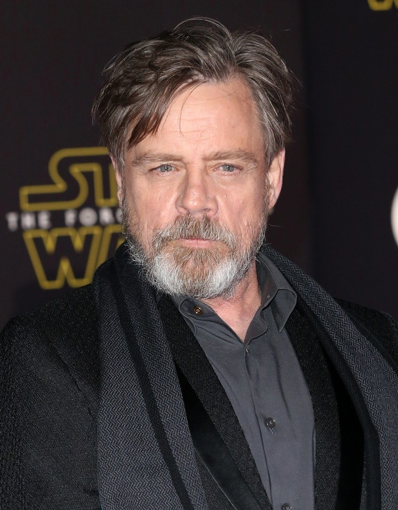 Mark Hamill<br>Premiere of Star Wars: The Force Awakens