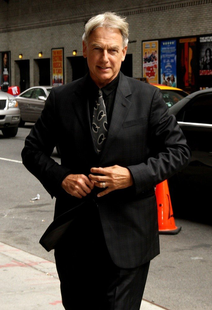 Mark Harmon<br>Celebrities for The Late Show with David Letterman