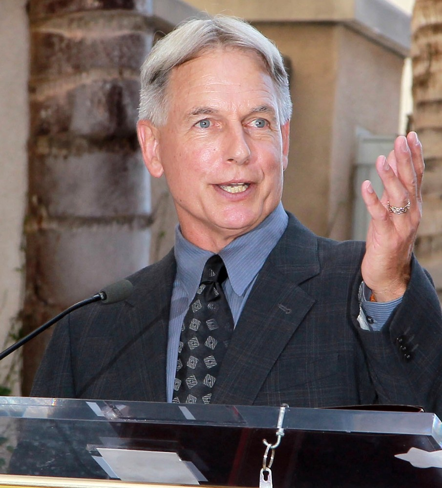 mark harmon mark harmon is honored with a hollywood star on the