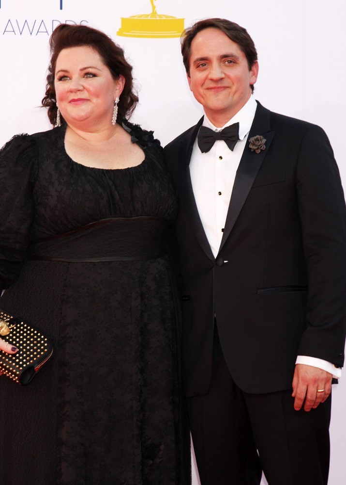 Melissa McCarthy, Ben Falcone<br>64th Annual Primetime Emmy Awards - Arrivals