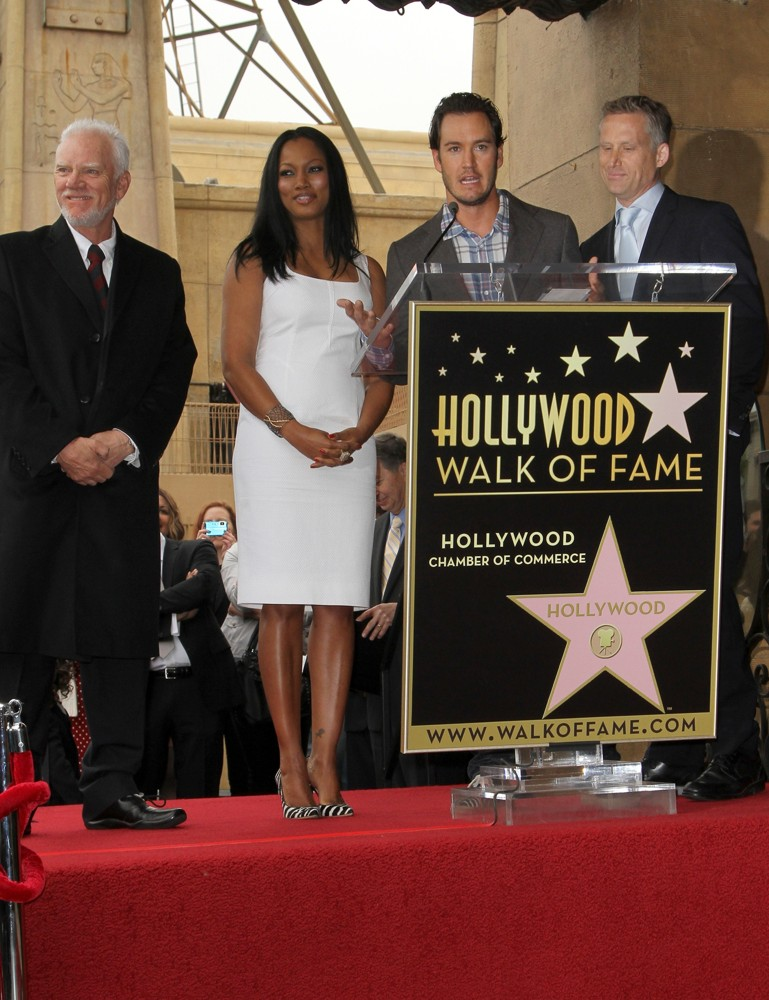 Malcolm McDowell, Garcelle Beauvais, Mark-Paul Gosselaar, Reed Diamond<br>The Hollywood Walk of Fame Honors Malcolm McDowell