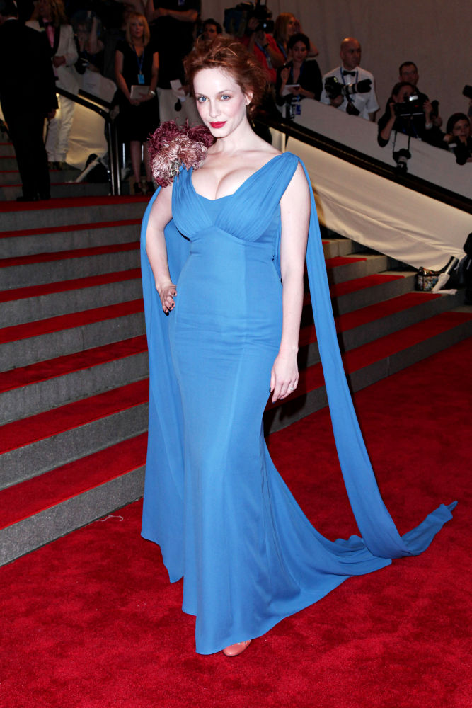 Christina Hendricks<br>The Costume Institute Gala Benefit