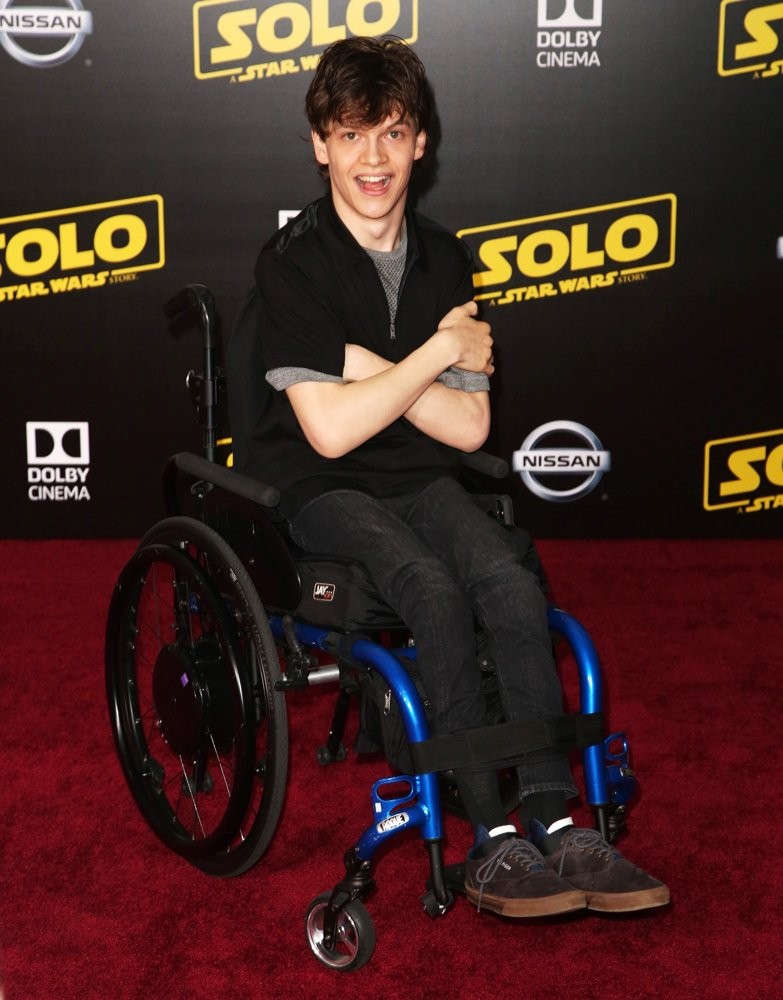 Micah Fowler<br>Premiere of Disney Pictures and Lucasfilm's Solo: A Star Wars Story - Arrivals