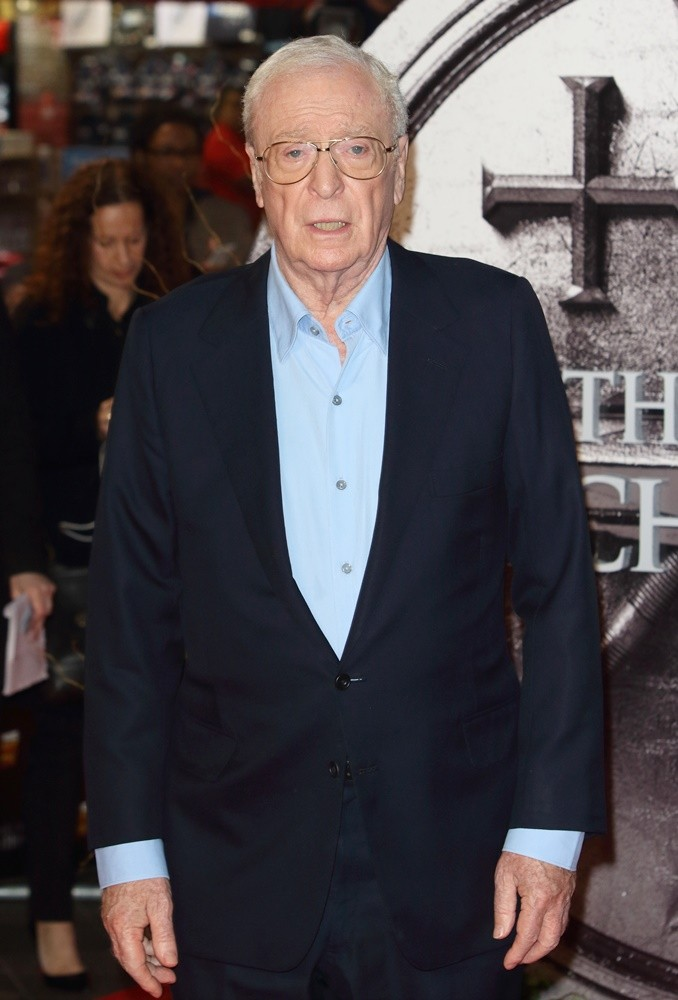 Michael Caine<br>Premiere of The Last Witch Hunters