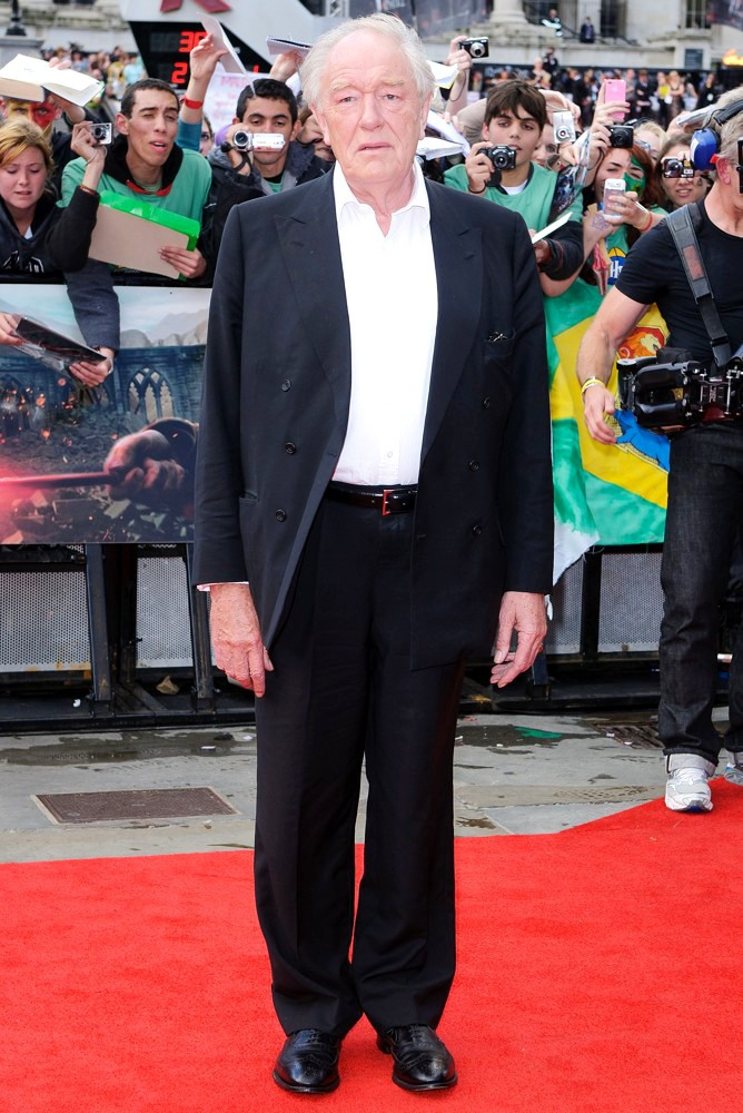 Michael Gambon<br>Harry Potter and the Deathly Hallows Part II World Film Premiere - Arrivals