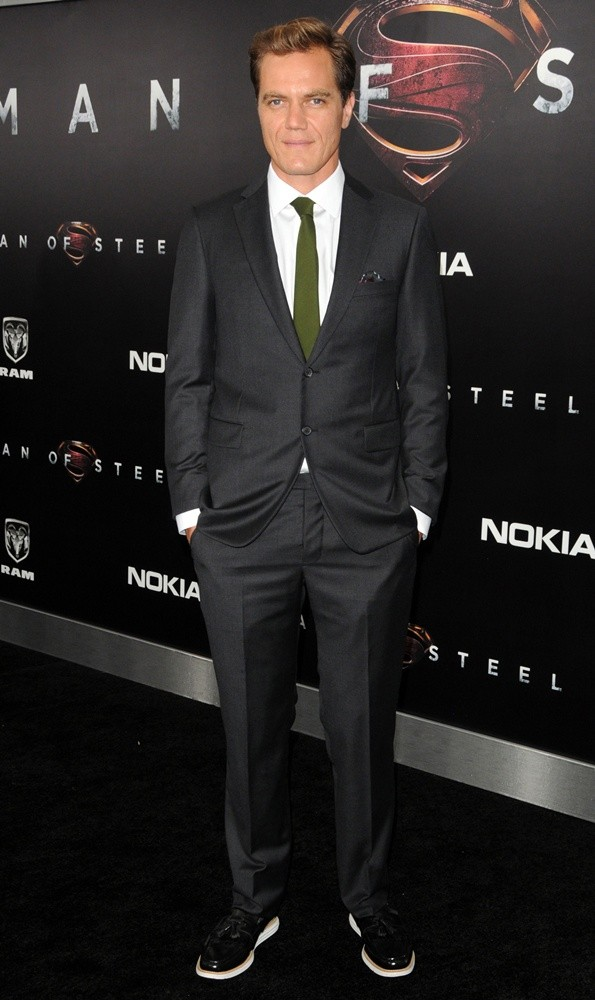 Michael Shannon<br>World Premiere of Man of Steel - Arrivals