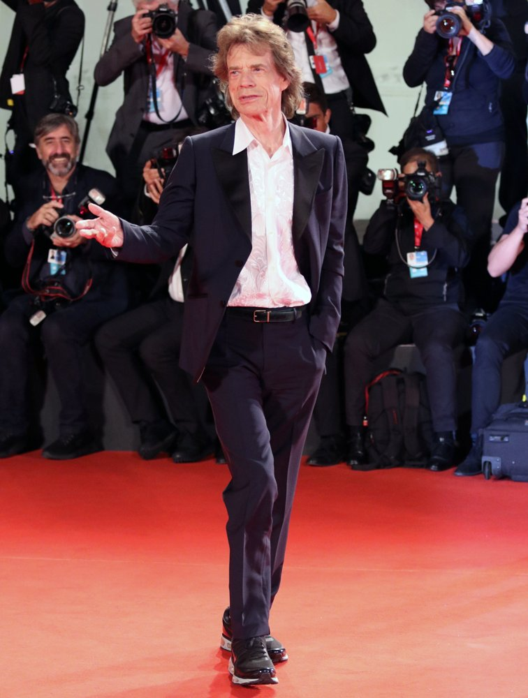 Mick Jagger, The Rolling Stones<br>The 76th Venice Film Festival - The Burnt Orange Heresy - Red Carpet Arrivals