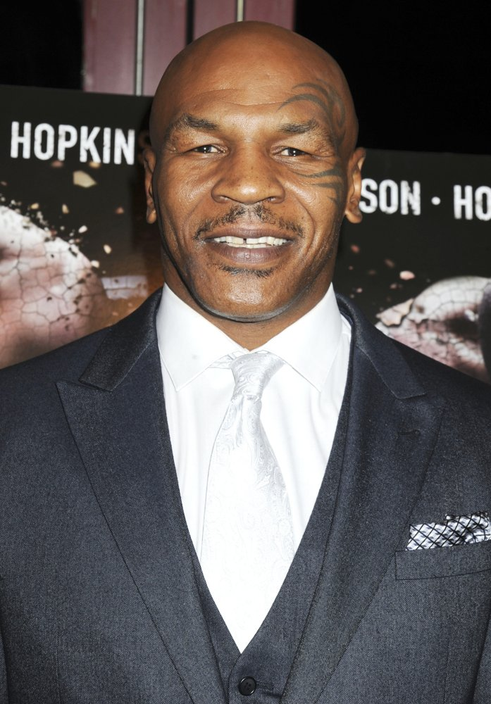 Mike Tyson<br>New York Screening of Champs - Arrivals