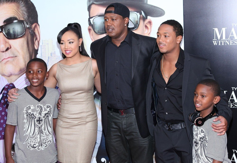 Cymphonique Miller, Master P, Lil' Romeo<br>Tyler Perry's Madea's Witness Protection New York Premiere