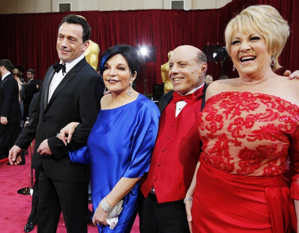 Liza Minnelli, Joey Luft, Lorna Luft<br>The 86th Annual Oscars - Red Carpet Arrivals
