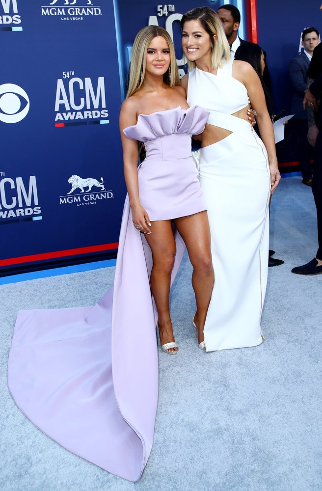 Maren Morris, Cassadee Pope<br>54th Academy of Country Music Awards - Arrivals