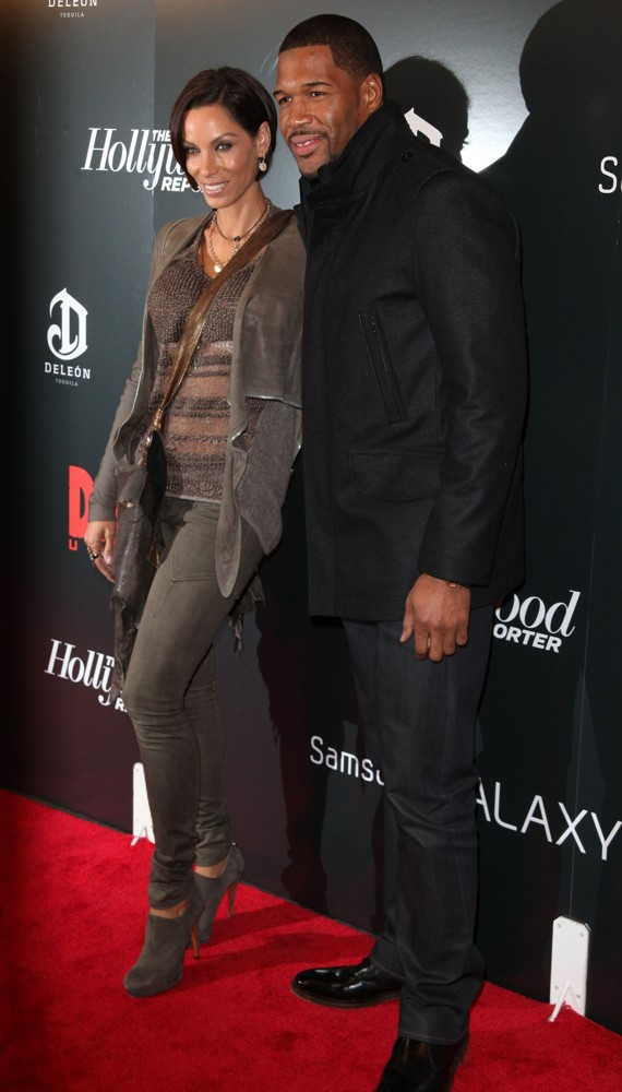 Nicole Murphy, Michael Strahan<br>The Premiere of Django Unchained