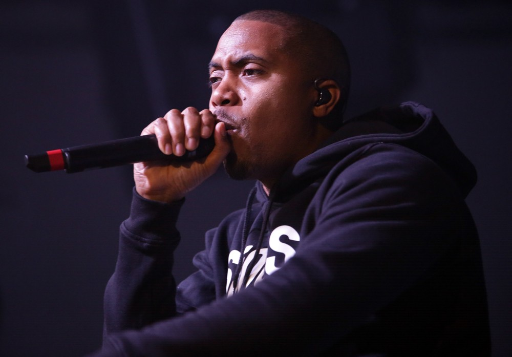 Nas<br>Nas Performing at Liverpool University Guild of Students