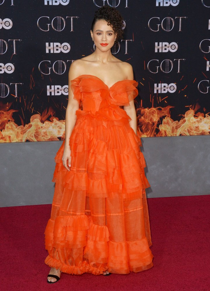 Nathalie Emmanuel<br>Game of Thrones Season 8 Premiere - Red Carpet Arrivals