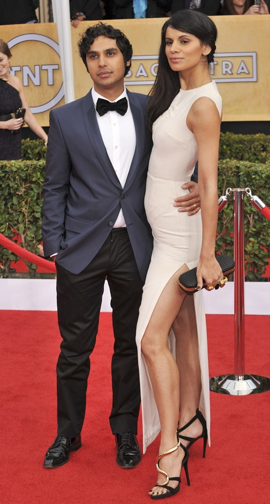 Kunal Nayyar, Neha Kapur<br>19th Annual Screen Actors Guild Awards - Arrivals