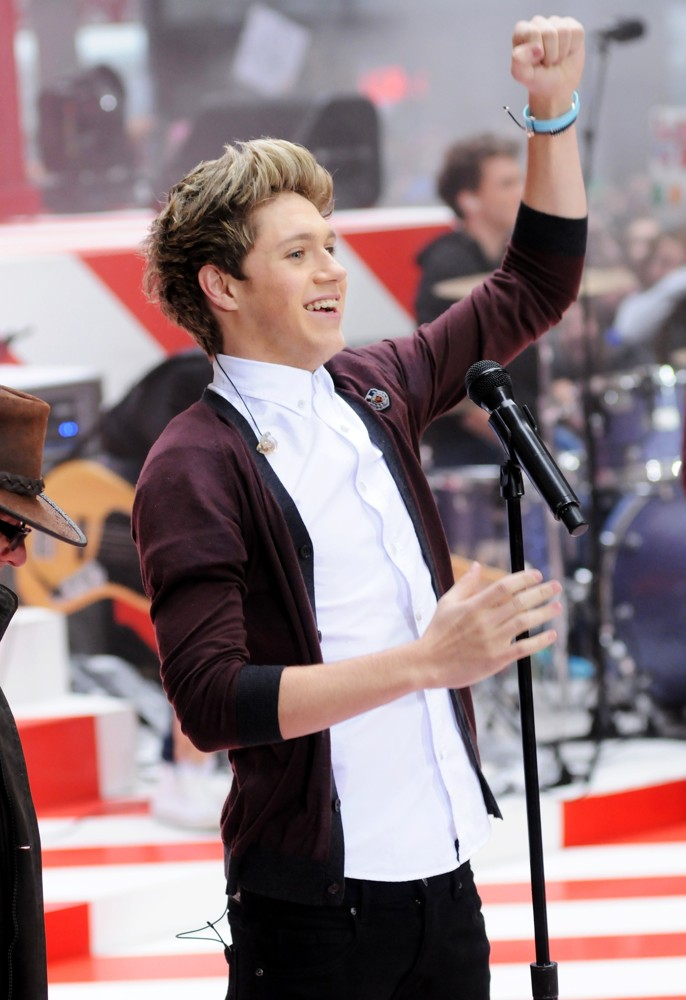 Niall Horan, One Direction<br>One Direction Performing Live on The Today Show